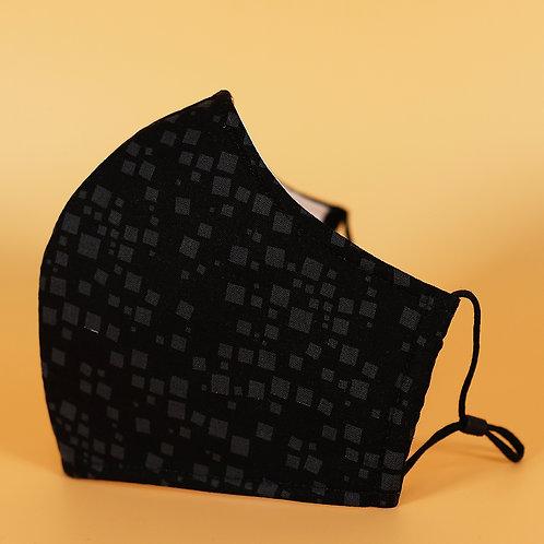 Black w/ Subtle Square