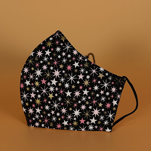 Fireworks- 3 Layer Cotton Face Mask