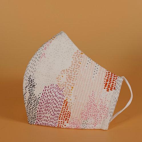 Digital Print - 3 Layer Cotton Face Mask