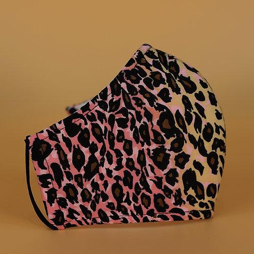 Pink & Beige Leopard
