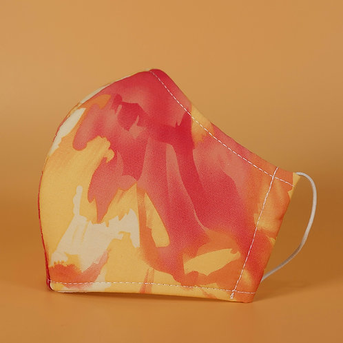 Hot Rod - 3 Layer Cotton Face Mask