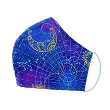 Sparkling Celestial - 3 Layer Cotton Face Mask