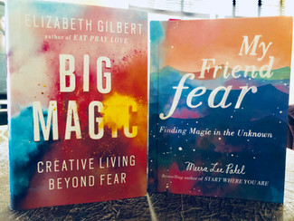 """How 'Big Magic' and 'My Friend Fear' brought the """"magic"""" back into my crea"""