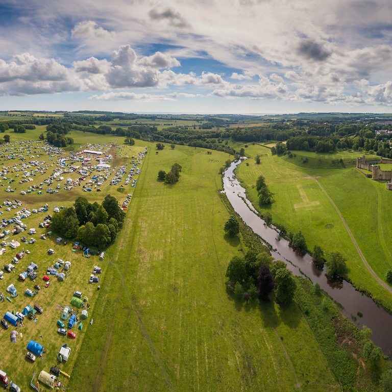 Glamping at Mighty Dub Fest 2021