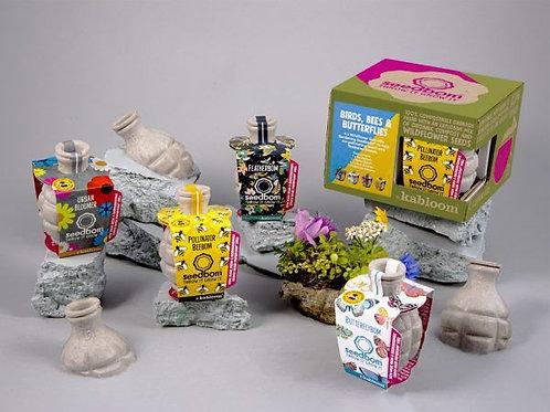 Seedbom Gift Set - Birds, Bees and Butterflies