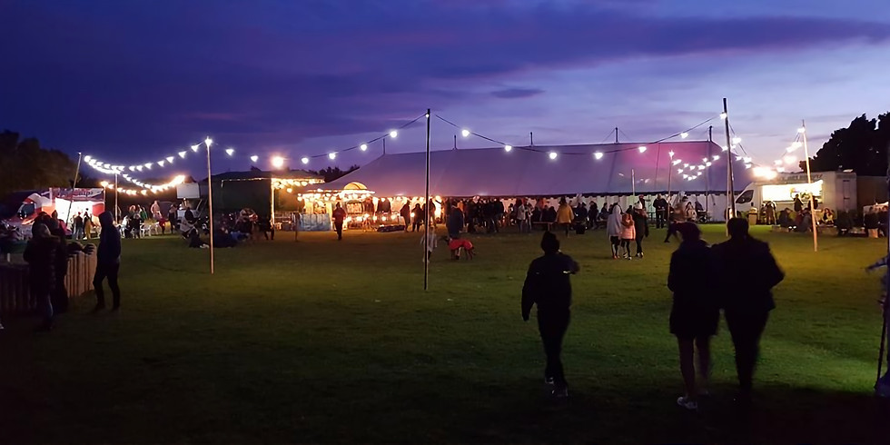 Glamping at Druridge Bay Camp Out 2021