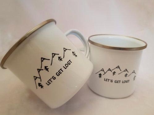 Let's Get Lost - Melamine Mug