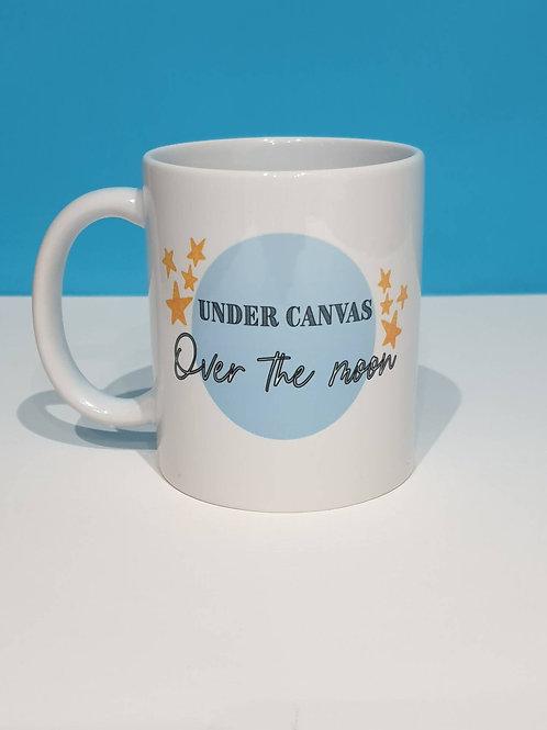 Under Canvas over the Moon Mug