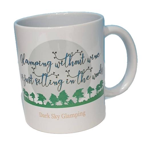Glamping without Wine Mug