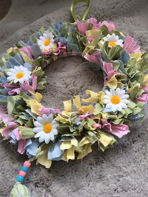 Rag Wreath Craft Kit