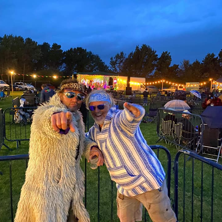 Glamping at Rock Around The Decades 2021