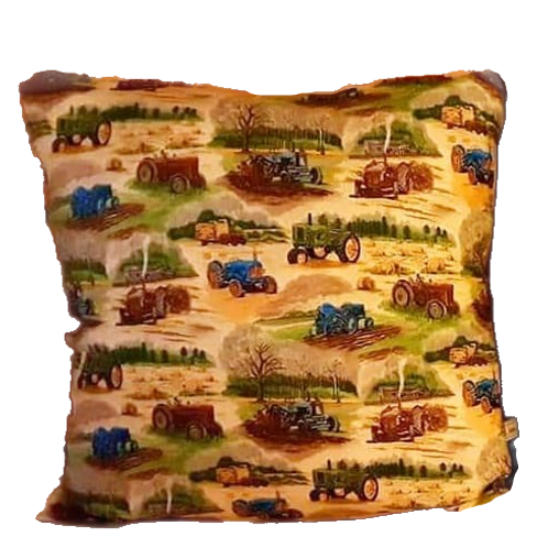 Vintage Tractor Cushion