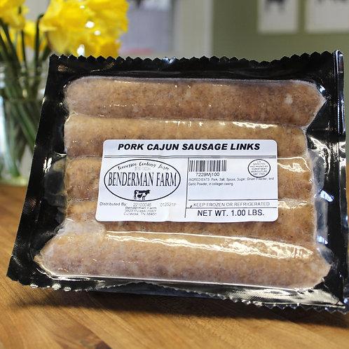 Pork Cajun Sausage Links
