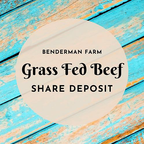 Grass Fed Beef Share - Deposit