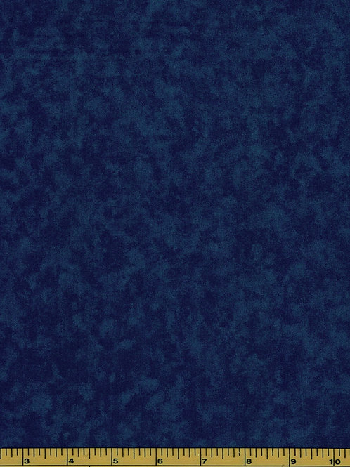 Dark Blue Filler Fabric - Cloud Nine #208- 100% Cotton- Sold by the Half Yard