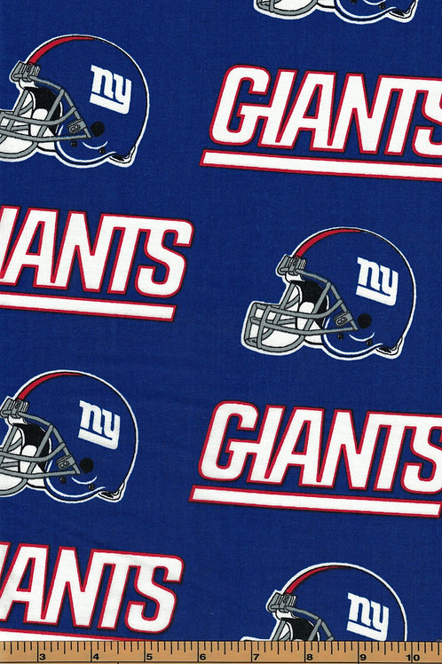 New York Giants NFL Football Fabric|100% Cotton|Sold by the half yard