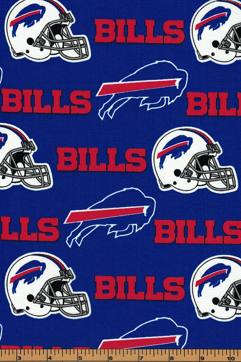 Buffalo Bills NFL Football Fabric|100% Cotton|Sold by the half yard