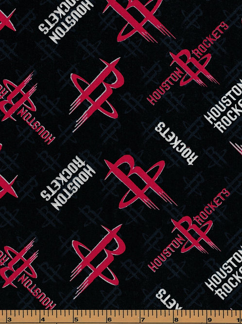 Houston Rockets Basketball | NBA Fabric |100% Cotton|Sold by the half yard