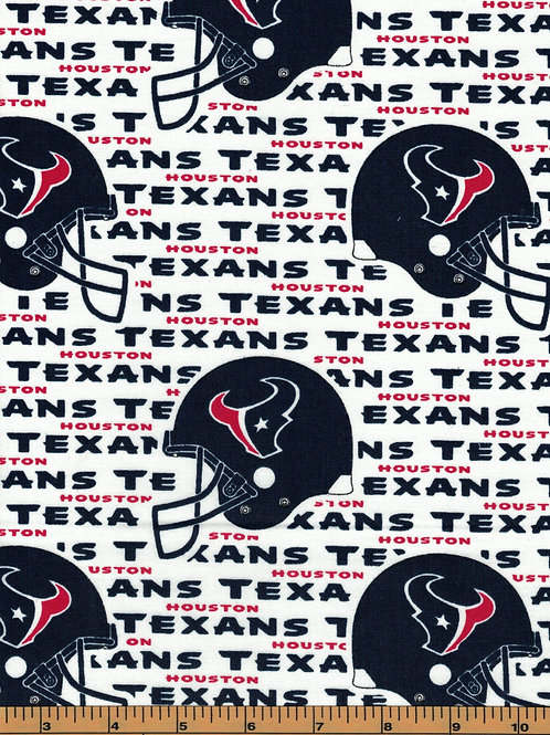 Houston Texans | NFL Football Fabric|100% Cotton | by the 1/2 yard