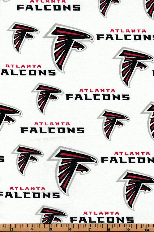 Atlanta Falcons NFL Football Fabric|100% Cotton|Sold by the half yard