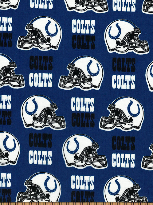 Indianapolis Colts NFL Football Fabric|100% Cotton|Sold by the half yard