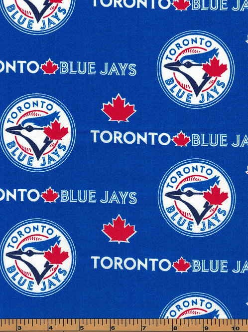 Toronto Blue Jays - MLB Fabric |100% Cotton|Sold by the half yard