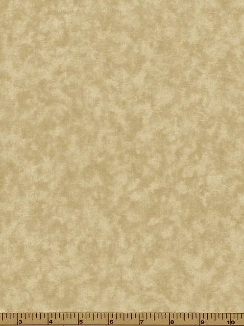Tan Filler Fabric - Cloud Nine #702- 100% Cotton- Sold by the Half yard