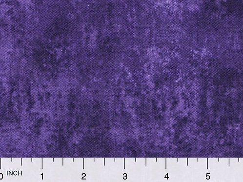 Dark Purple Filler Fabric | Smudge of Color | 100% Cotton|Sold by the half yard