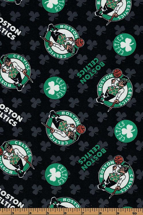 Boston Celtics Basketball | NBA Fabric |100% Cotton|Sold by the half yard