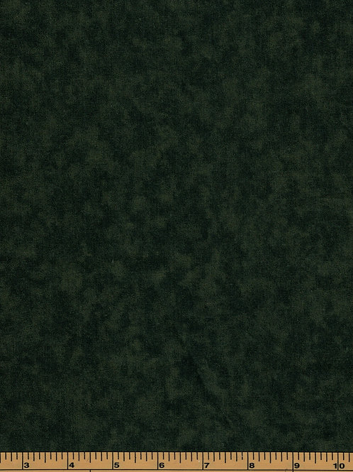 Olive Green Filler Fabric - Cloud Nine #711 - 100% Cotton- Sold by the Half Yard