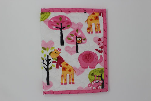 Super Soft Jungle Animal Themed Reusable Book Cover