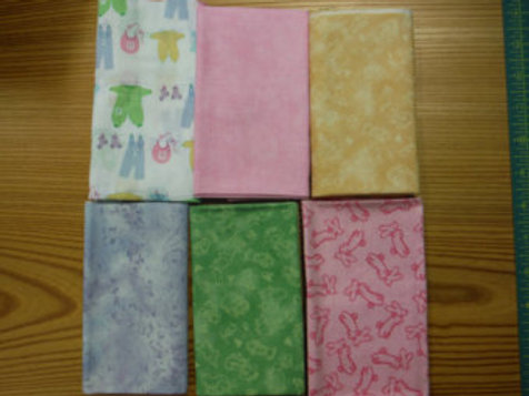 Baby Fabric - Fat Quarter Pack
