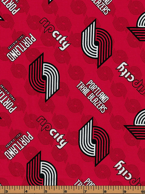 Portland Trailblazers Basketball | NBA Fabric |100% Cotton|Sold by the half yard