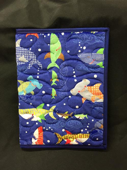 Super Soft Shark Themed Reusable Book Cover