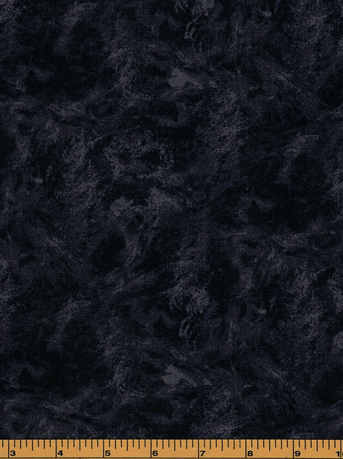 """108"""" Wide Back Black Quilting Fabric - 100% Cotton- by the yard"""