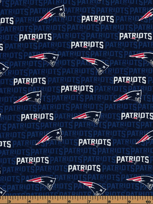 New England Patriots NFL Football Fabric|100% Cotton|Sold by the half yard