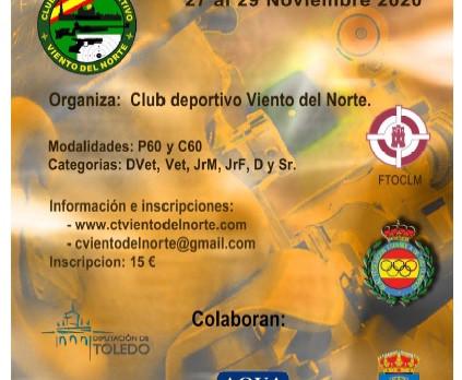 27 a 29 de noviembre 2020 - VII Open Mazapán - Toledo