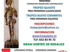 19, 20 y 21 de noviembre 2021 - XV Open Nacional aire Quijote - Cantoblanco (Madrid)