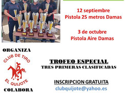 12 de septiembre y 3 de octubre 2021 - VII Trofeo Dulcinea - Cantoblanco (Madrid)
