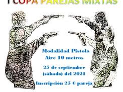 25 de septiembre 2021 - I Copa parejas mixtas aire comprimido - Cantoblanco (Madrid)