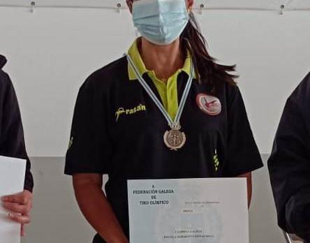 25 de julio 2021 - Isabel Gonzalo campeona en Pistola deportiva