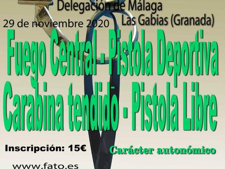 29 de noviembre 2020 - IV Trofeo Guadalmedina - Las Gabias (Granada)