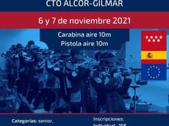6 y 7 de noviembre 2021 - VII Open de aire comprimido Alcor