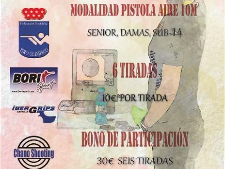29 de febrero a 19 de diciembre 2020 - I Copa Strana Pio 2020 - Cantoblanco (Madrid)