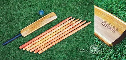 lawn game hire beach shack cricket backyard cricket