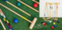 lawn game hire croquet