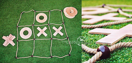 giant game hire giant noughts and crosses lawn game