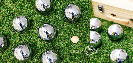 lawn game hire petanque bocce boules