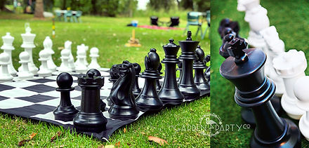 giant lawn game hire giant chess