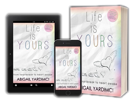 Life Is Yours Book, Tablet, Mobile